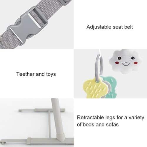 Kidsclub Baby Bedside Sleeper replacement parts