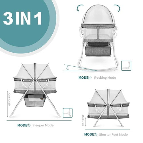 how you can rock besrey Bassinet for Baby
