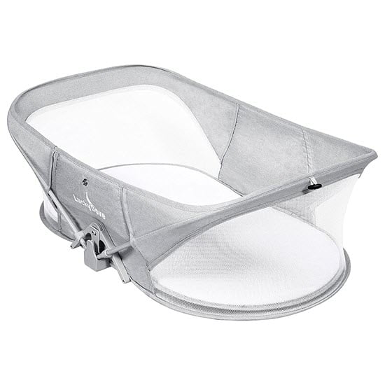 Luckydove Easy To Fold Air Travel Bassinet