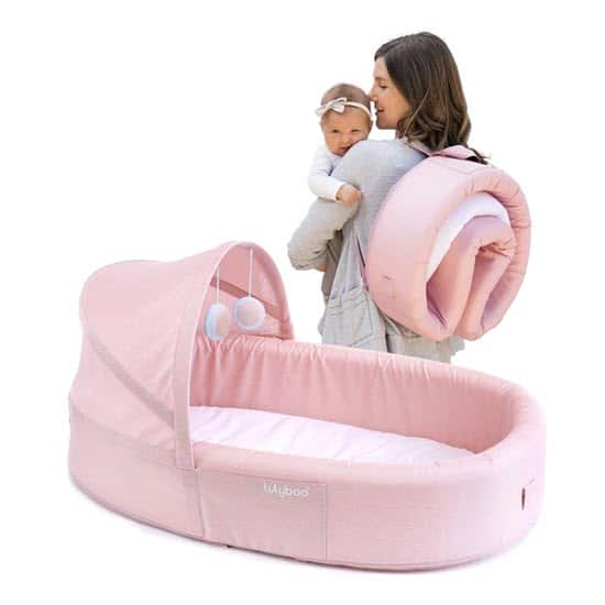 Lulyboo Baby To Go Bassinet for Flight