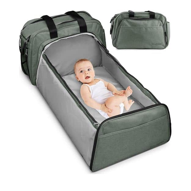 Scuddles 3-1 Portable Bassinet for Airlines