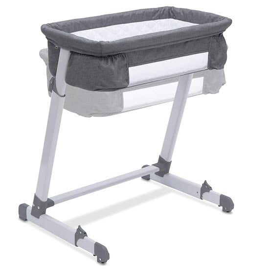 height adjustment of the Simmons Kids By The Bed City Sleeper Bassinet